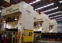 Farrat NBR Pads and washers used to isolate large Fukui power presses
