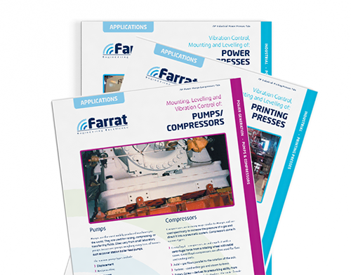 Download Farrat Industrial Application Guides