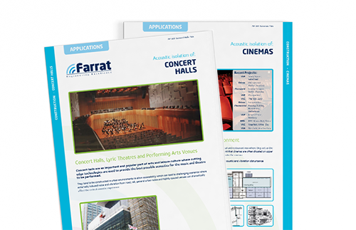 Download Farrat Construction Application Guides