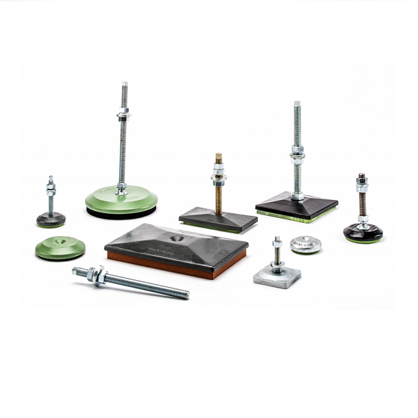 Farrat Jackmounts - for precision alignment of industrial machines
