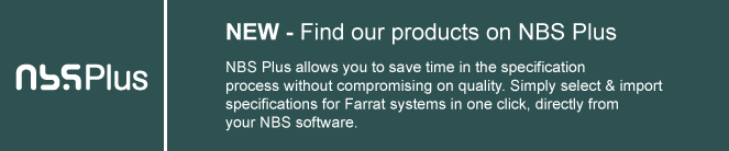Find Farrat products on Riba NBS Plus Specification Software