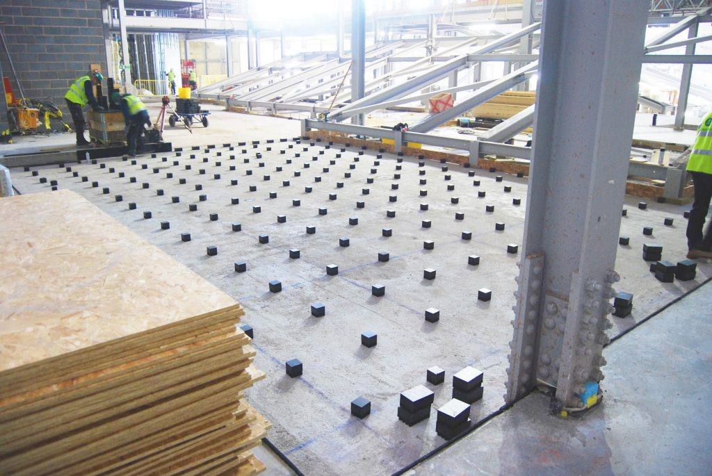 Acoustic Isolation For Buildings And Structures Farrat