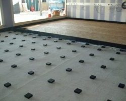 Farrat Isomat Floating Floor Installation