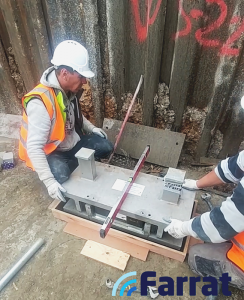 Farrat Shear Key installation at ADF