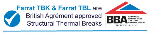Farrat Structural Thermal Breaks BBA Certificated