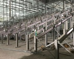 Dubai Cinema - secondary steelwork isolation for raked seating using Farrat Isomat