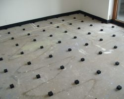 Farrat Isomat Floating Floor installed at the Barbican, London