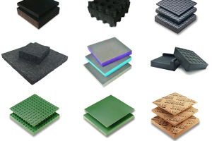 Farrat Materials Range - developed for vibration control in buildings, structures and industrial scenarios