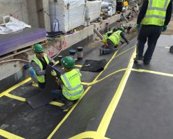 Farrat Verlimber installed as Full-Area Matting at Cartwright Gardens