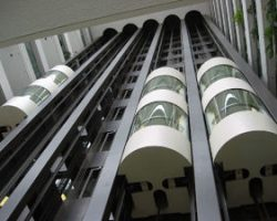 Farrat Vidam used to isolate lifts and escalators