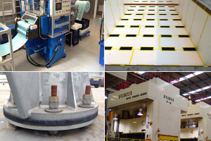 Farrat anti-vibration materials used in industrial applications to increase the efficiency of machinery and equipment