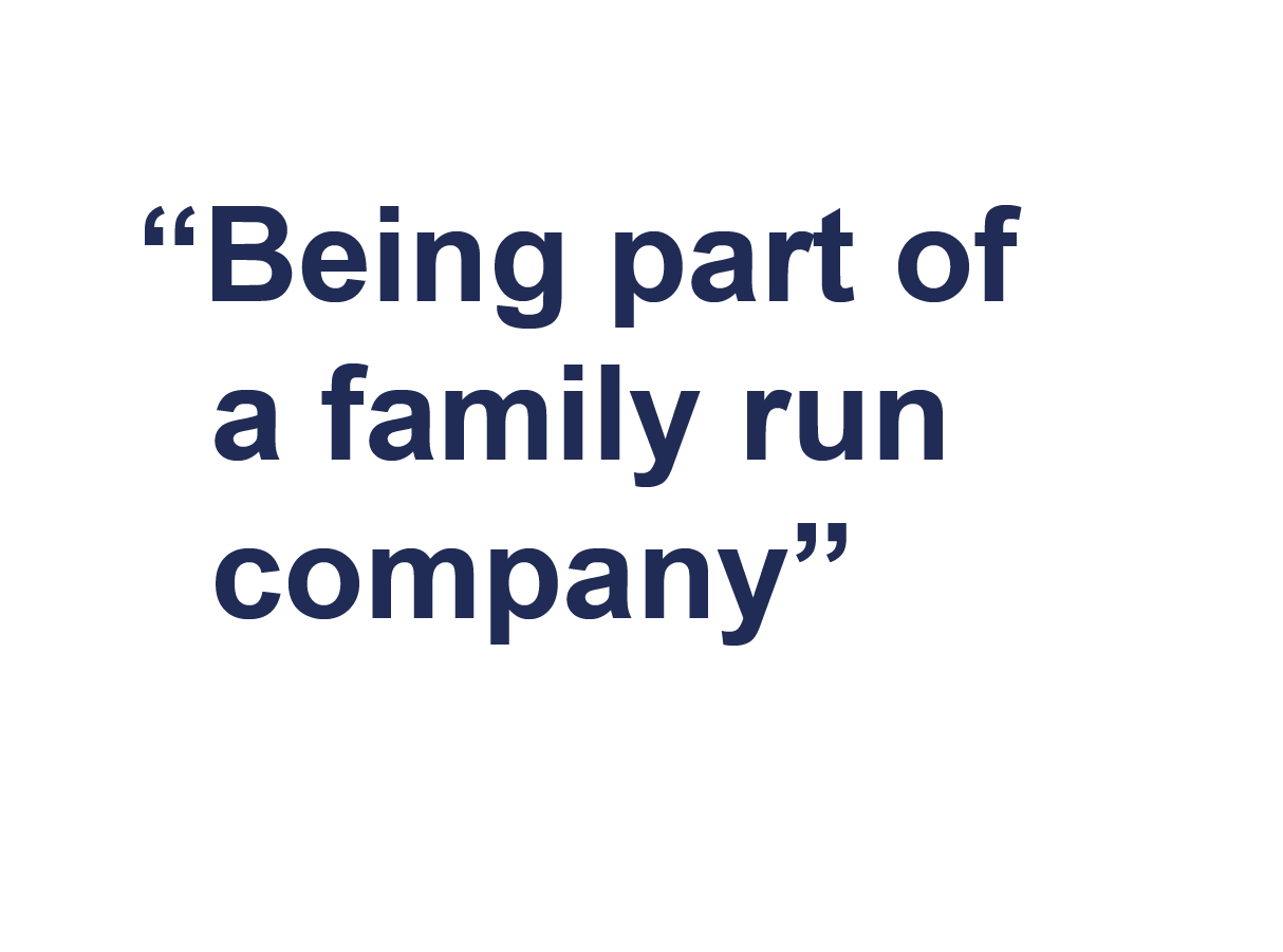 Why join Farrat-being part of a family run company
