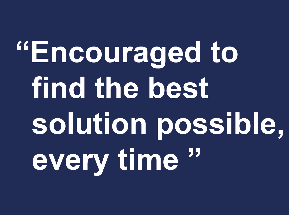 Why join Farrat-encouraged to find the best solution possible, every time