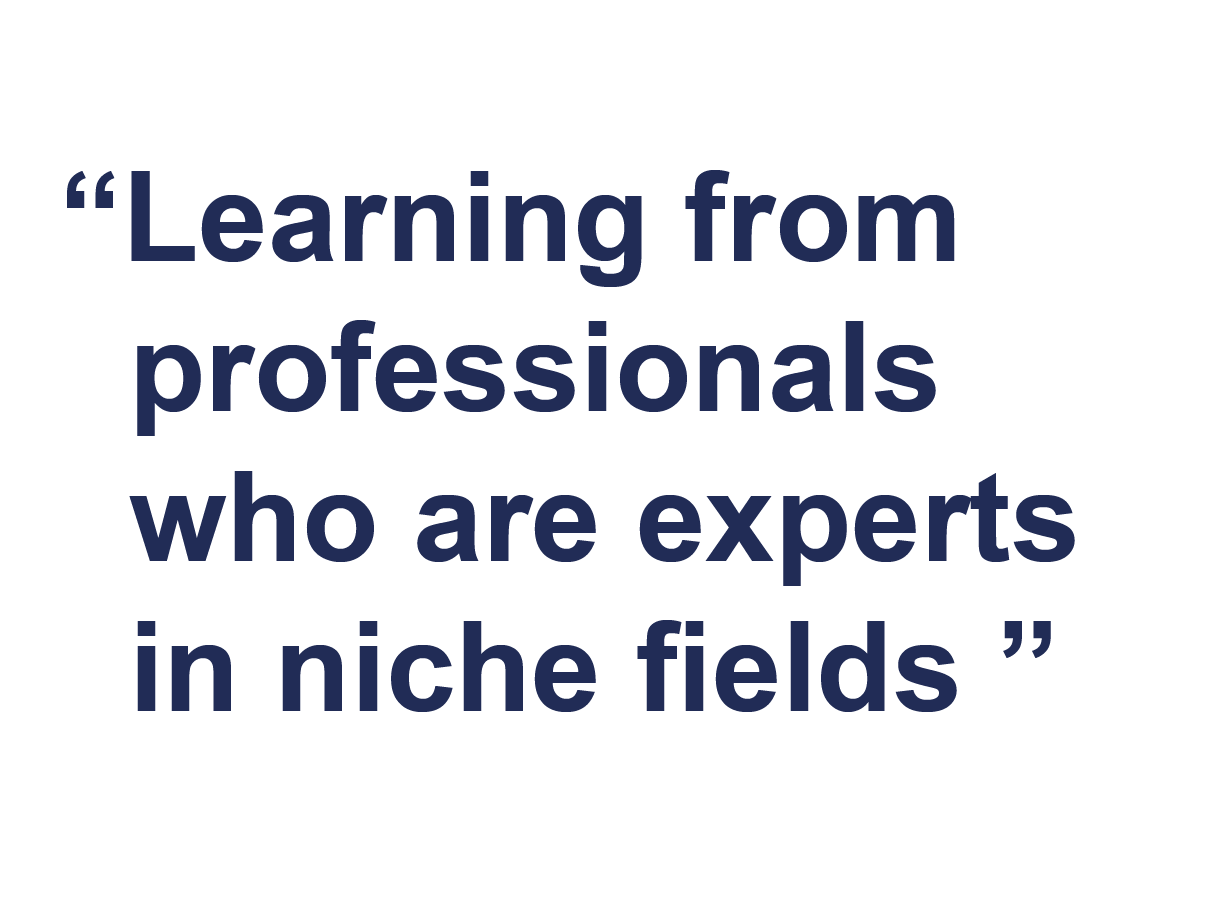 Why join Farrat-learning from professionals who are experts in niche fields