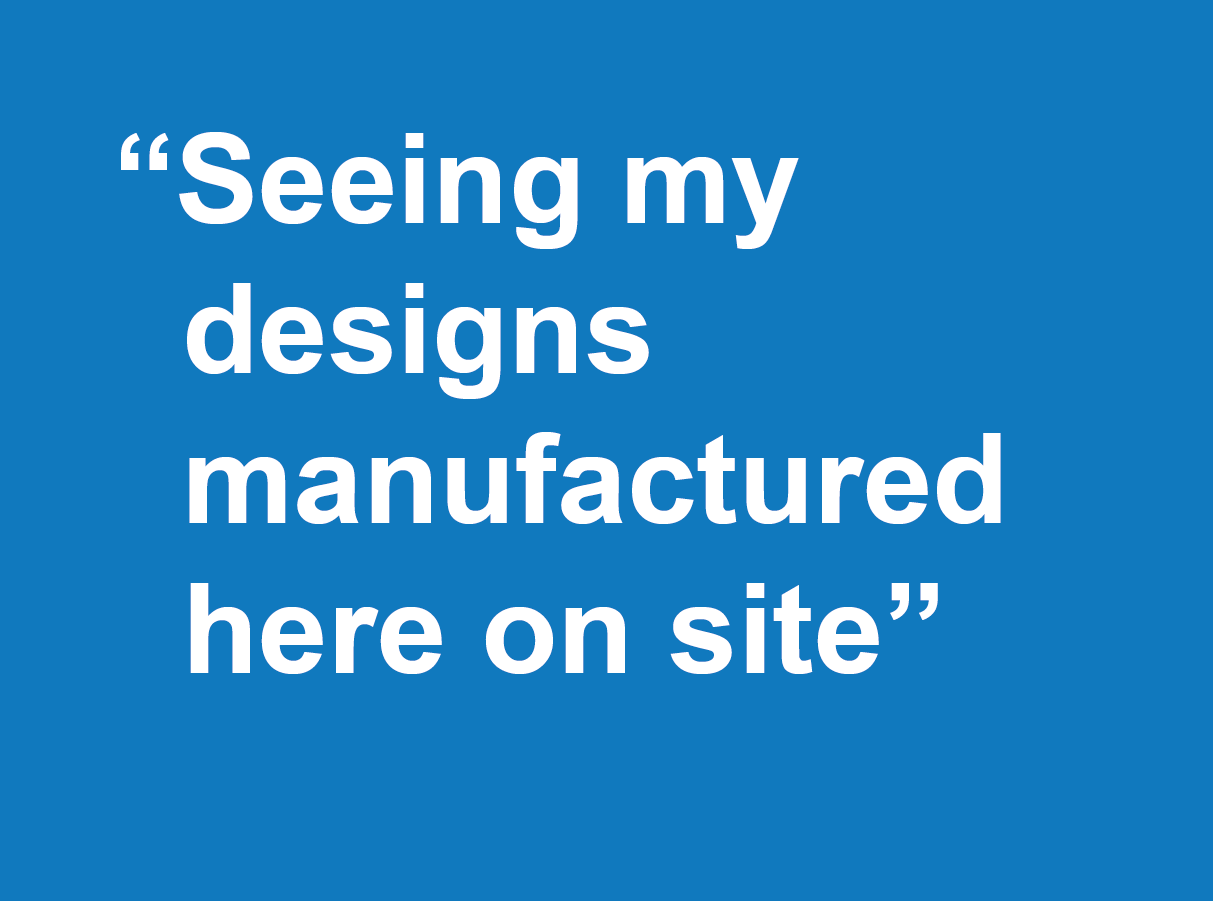 Why join Farrat-seeing my designs manufactured here on site