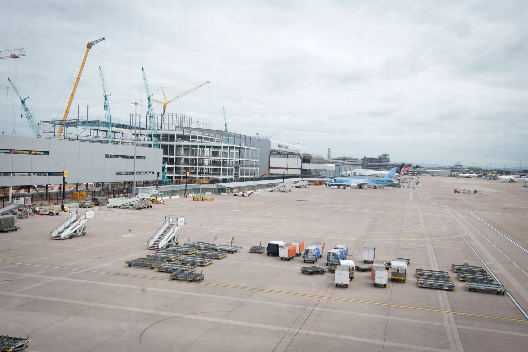 Manchester Airport Terminal 2 Progress