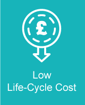 CineFLOOR Low Life-Cycle Cost