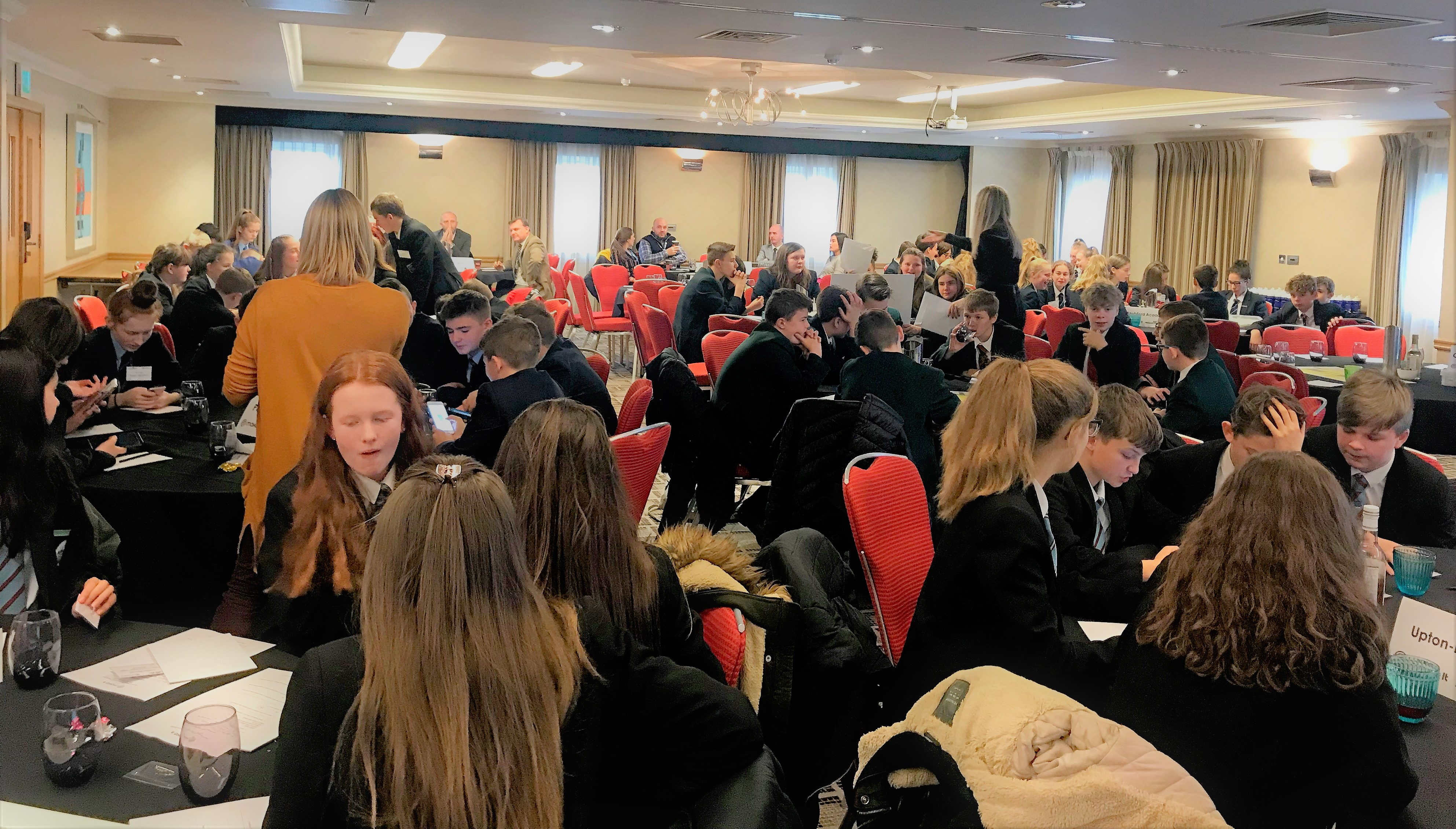 Eleven local schools lined up to win the Cheshire Heat of the MakeIt Enterprise Challenge