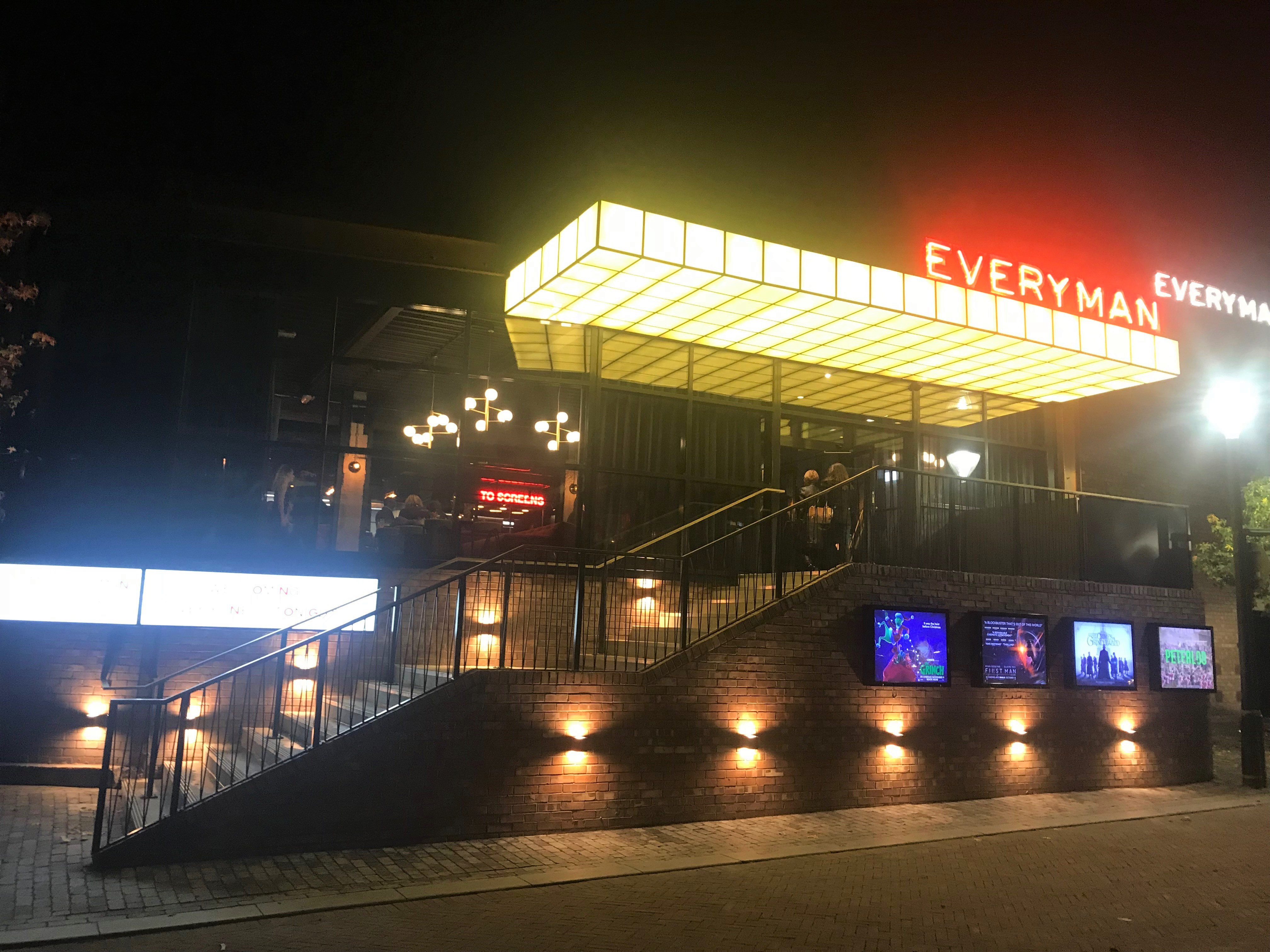 Everyman Cinema Altrincham, acoustically isolated by Farrat