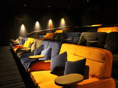 Everyman Cinema - Auditorium isolated by Farrat