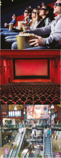 CineFLOOR acoustic floating floors are installed across cinemas in the UK and UAE