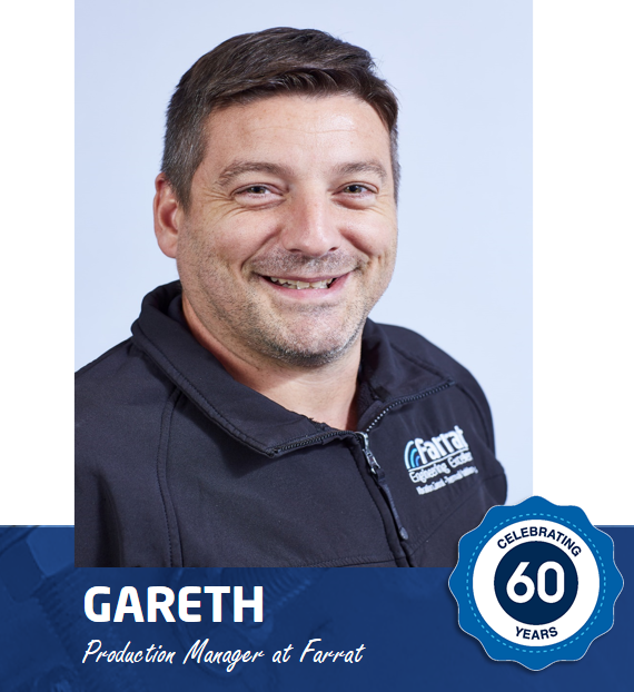 Gareth's Story - Celebrating 60 Years of Farrat