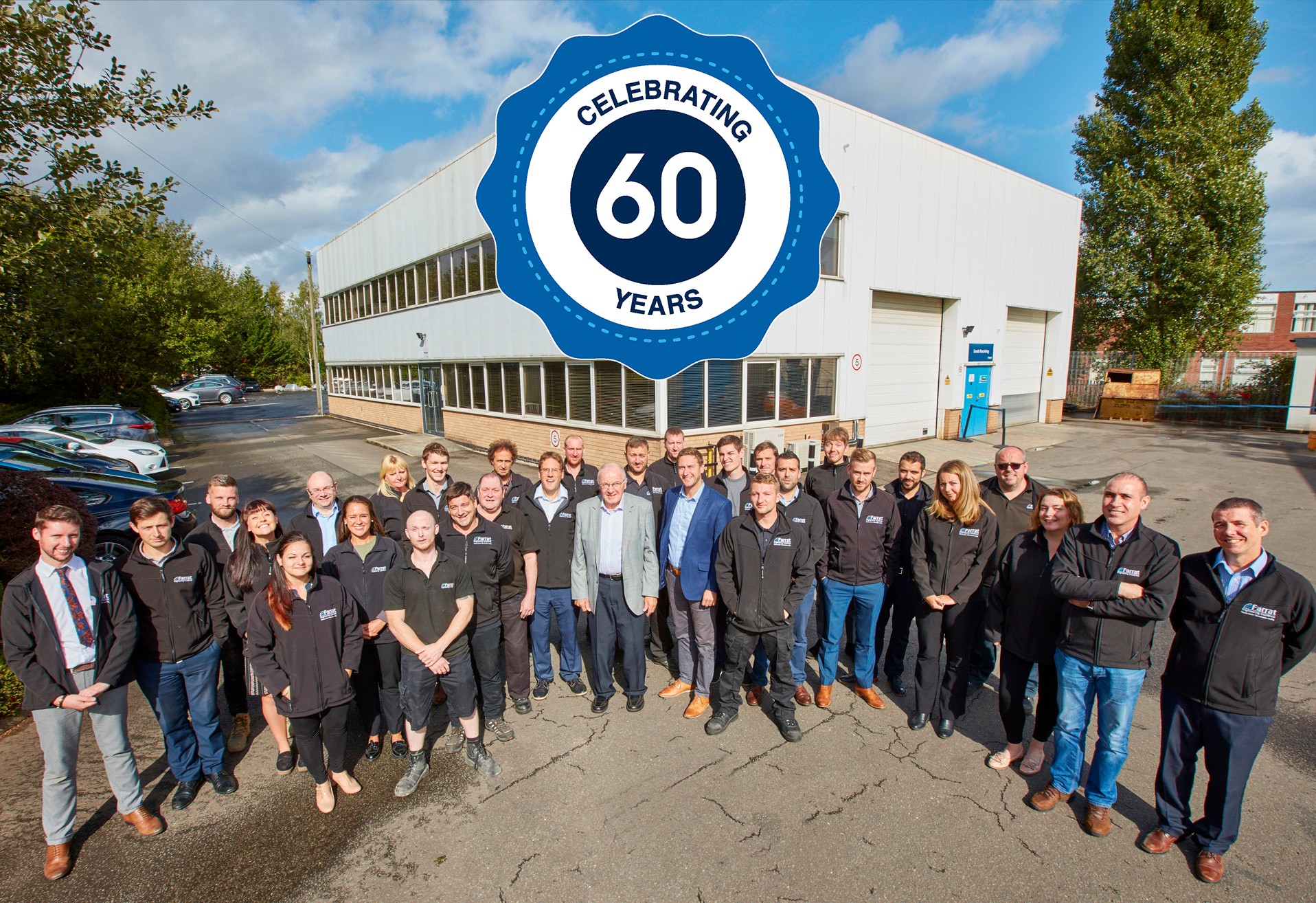 Farrat celebrating 60 years of engineering and manufacturing in the UK