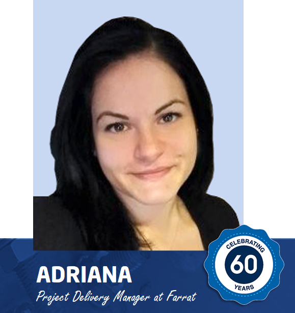 Meet Adriana - Project Delivery Manager at Farrat