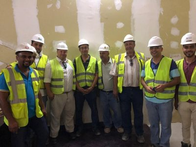 On-site training in Egypt delivered by Farrat