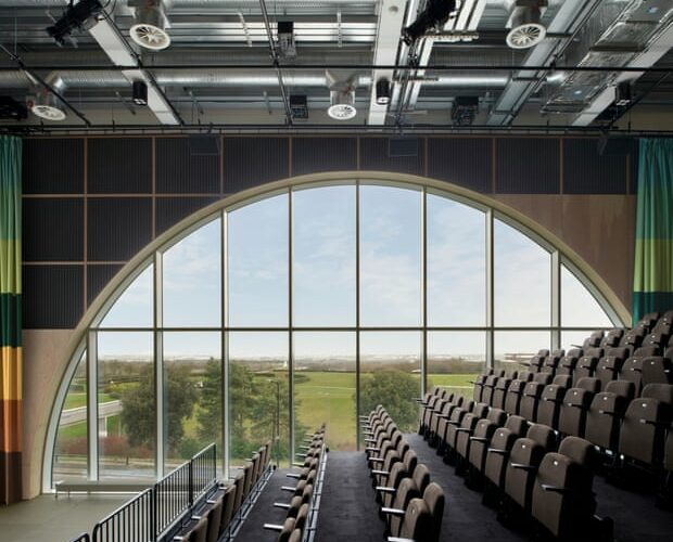 The MK Gallery's Sky Room auditorium. Credit - Hayley Ward