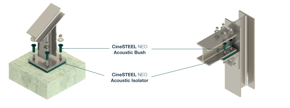 CineSTEEL NEO Diagram with labels