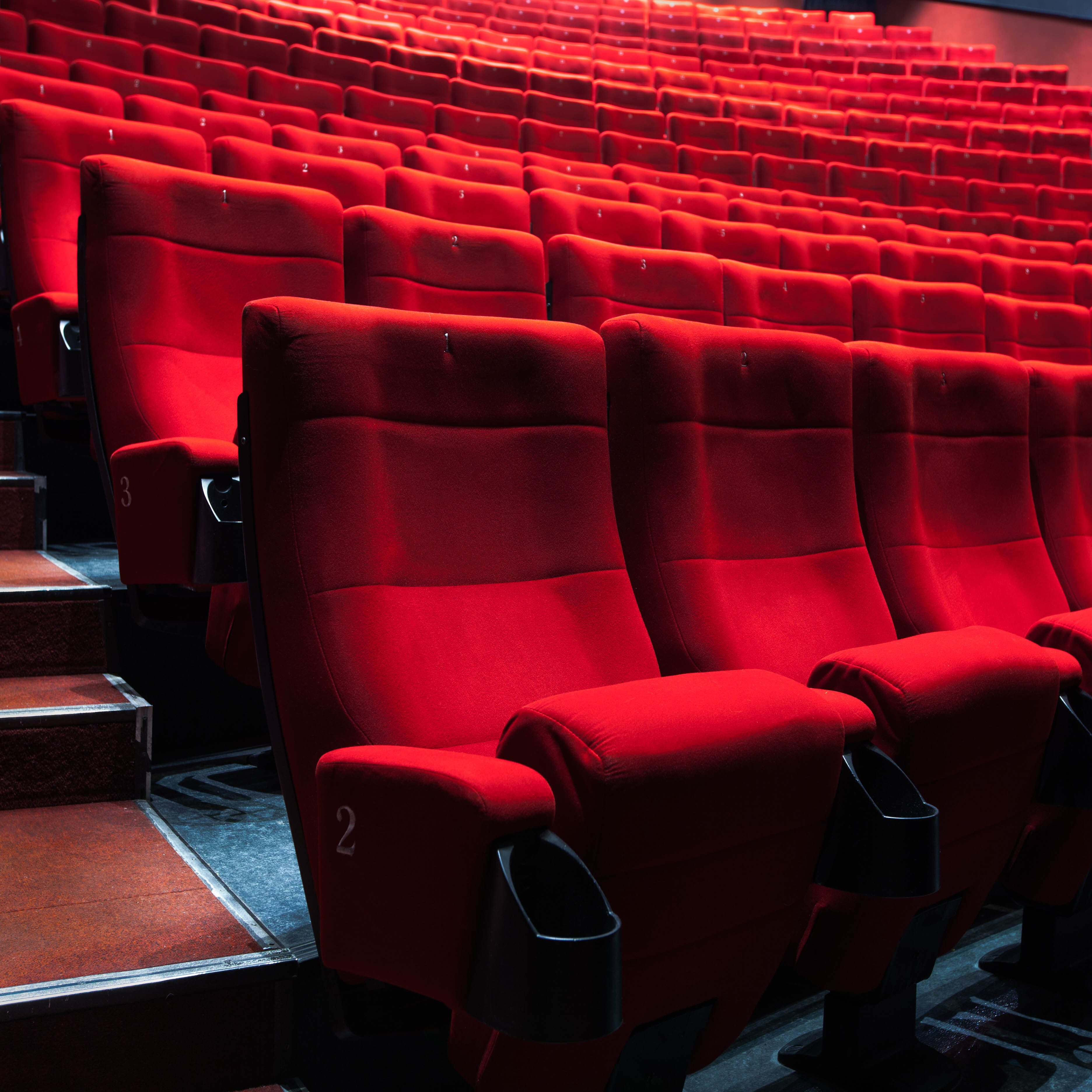 Cinema Raked Seating made better with CineSTEEL