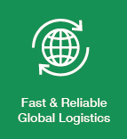 Fast and Reliable Global Logistics