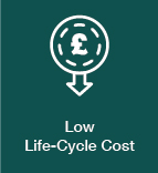 Low Life-Cycle Cost