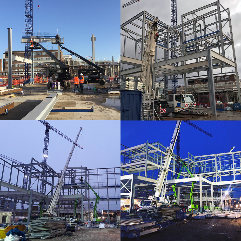 BHC Steelwork - Cineworld Hounslow starts on site